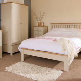"Painted 4'6"" bed frame £399 (1 only ex display )"