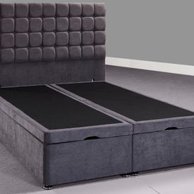 Ortho/memory mattress + ottoman divan base + headboard single £599 double £799 King £899
